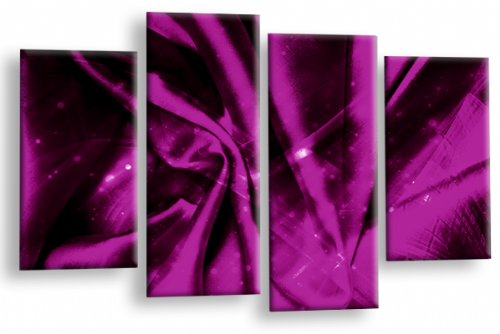Large Abstract Plum Grey Black Canvas Wall Art Picture